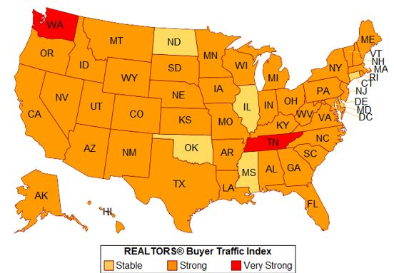 Homebuying Demand Continues to Outpace Supply in Many States in September 2017